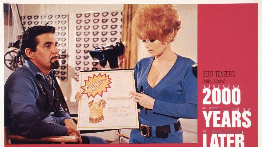 Pat Harrington, Jr. und Lisa Seagram, 1969