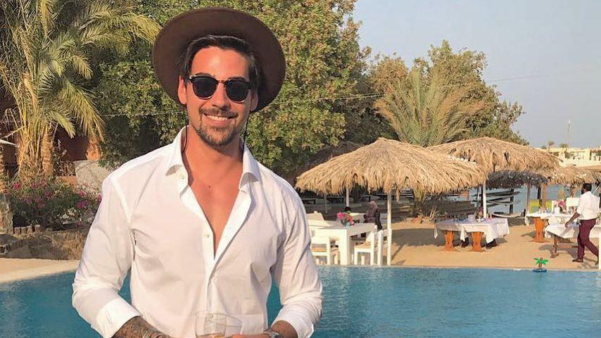 Patrick Cuninka auf einer Hochzeit in Ägypten
