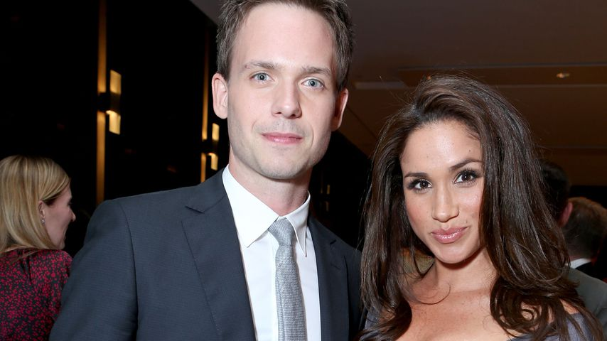 Patrick J. Adams und Meghan Markle beim Toronto International Film Festival