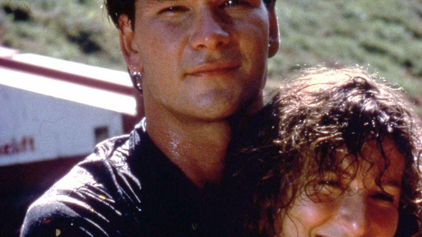 """Patrick Swayze und Jennifer Grey in einer Szene von """"Dirty Dancing"""""""