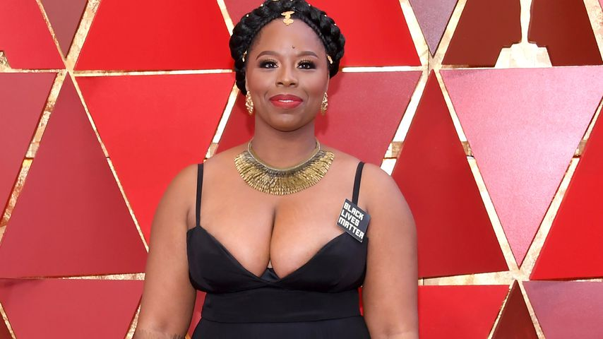 Patrisse Cullors bei den Oscars in Hollywood im März 2018
