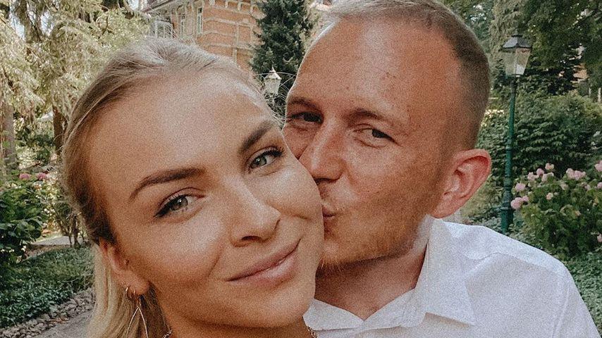 Patrizia Palme und ihr Mann Dennis, August 2020
