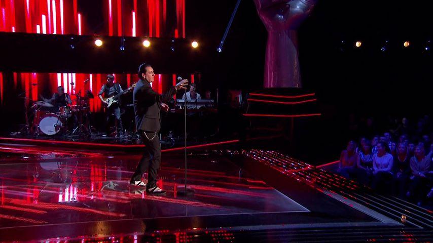 "Paul Black bei ""The Voice UK"" 2014"