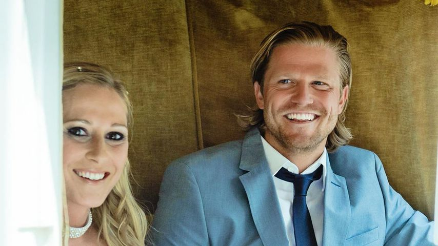 Paul Janke mit seiner Schwester Anna