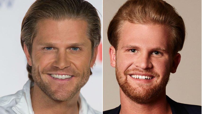 """Collage: Paul Janke und Jan Elsigk, """"Der Bachelor"""" 2012 und """"Die Bachelorette""""-Kandidat 2018"""