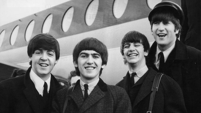 Paul McCartney, George Harrison, Ringo Starr und John Lennon, die Beatles