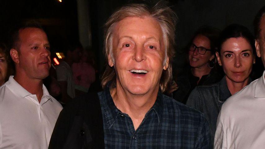 Paul McCartney bei einem Konzert in New York im August 2019