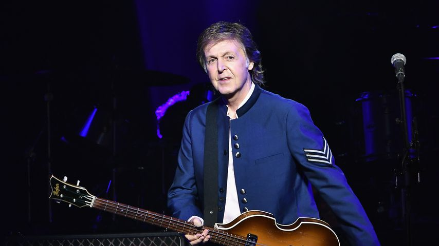 Paul McCartney bei einem Konzert in Miami