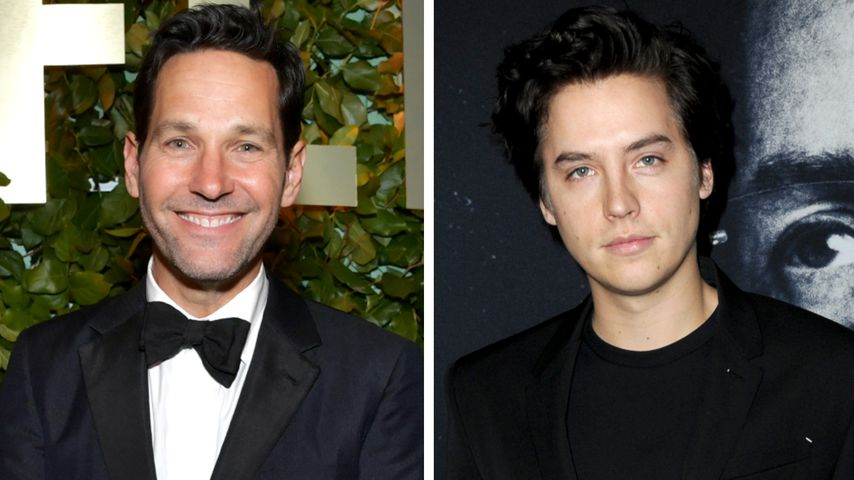Collage: Paul Rudd, Cole Sprouse