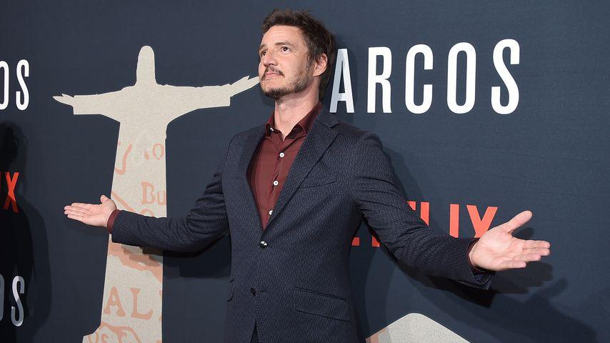 "Schauspieler Pedro Pascal bei der ""Narcos""-Premiere 2017"