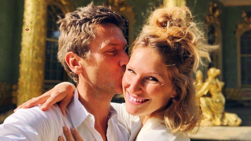 Peer Kusmagk und seine Frau Janni