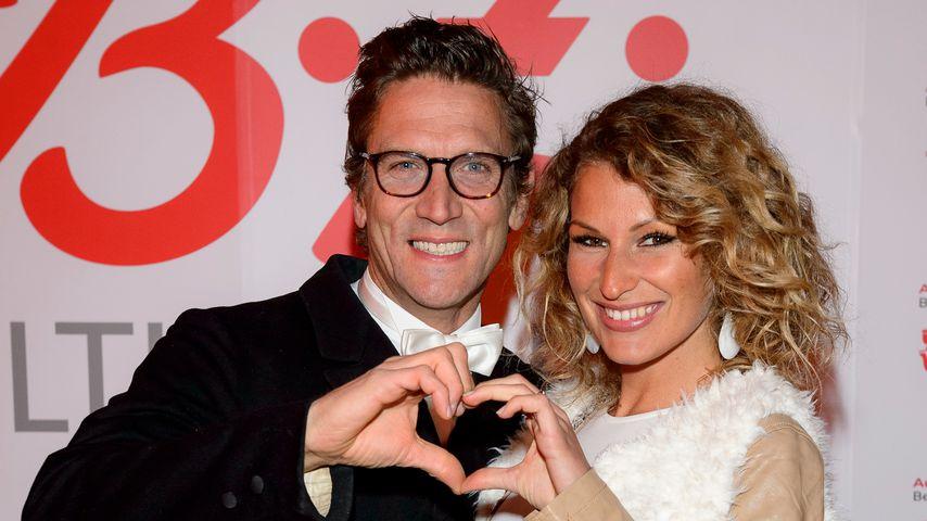 Peer Kusmagk und Janni Hönscheid bei der Verleihung des BZ Kulturpreises in Berlin