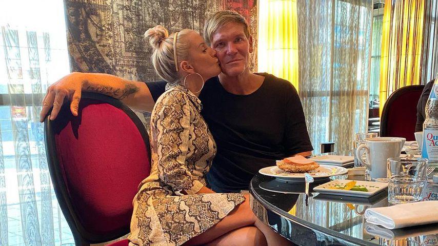 Peggy Jerofke und Steff Jerkel im September 2020