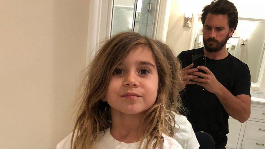 Scott Disick mit seiner Tochter Penelope