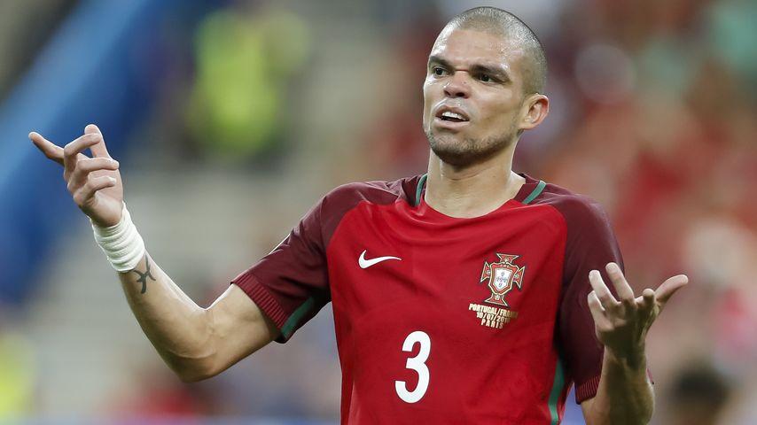 Pepe im EM-Finale Portugal gegen Frankreich bei der Fussball-EM in Saint-Denis