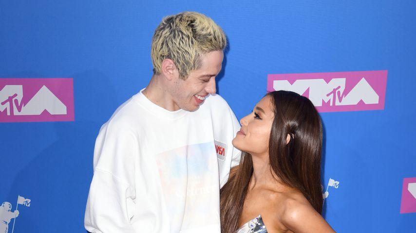 Pete Davidson und Ariana Grande bei den MTV Video Music Awards 2018