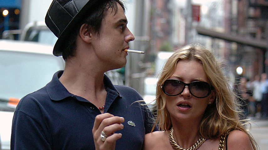 Pete Doherty und Kate Moss, 2005