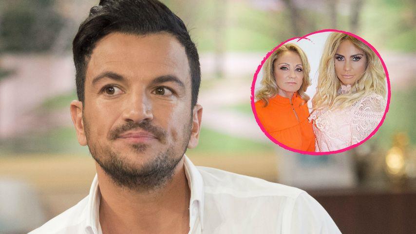 Peter Andre verletzt durch Vorwürfe von Katie Price' Mutter