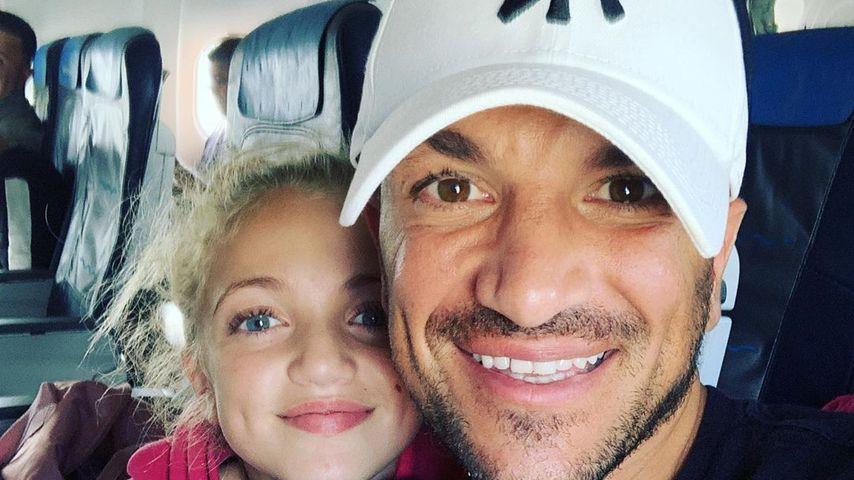 Peter Andre (rechts) mit seiner Tochter Princess