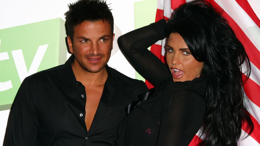 Peter Andre und Katie Price im  The Soho Hotel in London, 2009