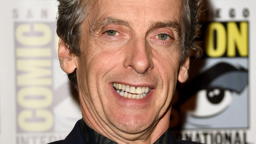 "Peter Capaldi beim Photocall für ""Doctor Who"" in San Diego 2015"