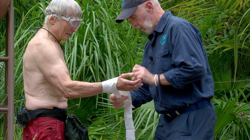 Peter Orloff und Dr. Bob im Dschungelcamp