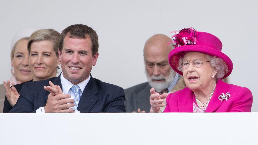 Peter Philipps und die Queen im Juni 2016