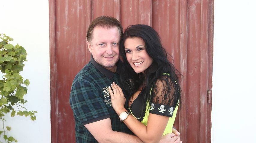 Peter Schutti und Antonia aus Tirol im August 2014