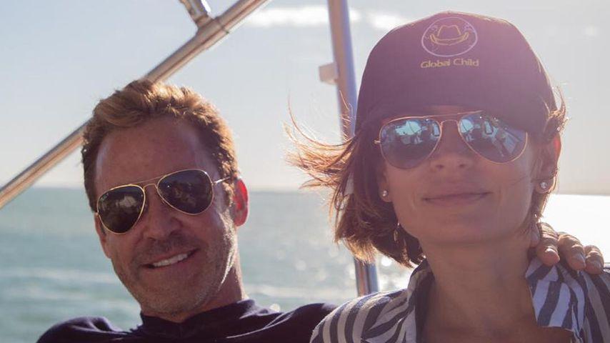 Sandra Luesse und ihr Verlobter Peter Taunton