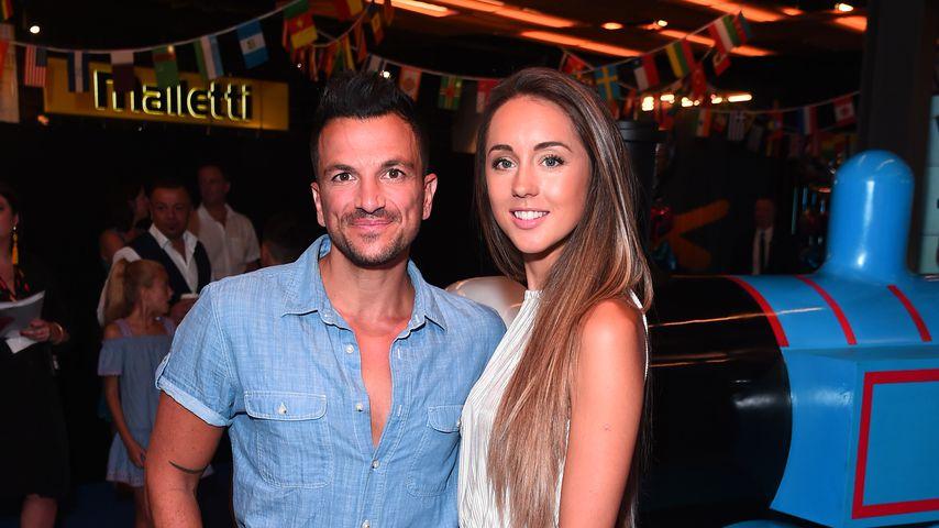 Peter Andre und Emily MacDonagh im Juli 2018