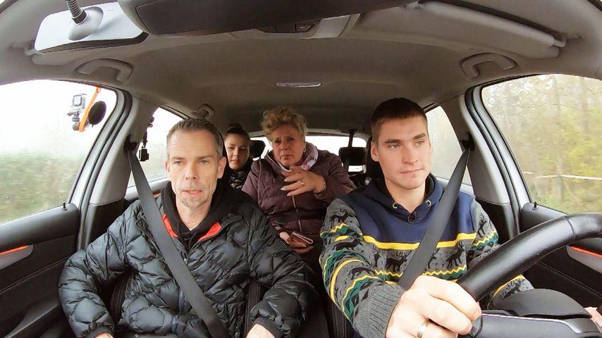 So lief Estefania und Peter Wollnys Führerschein-Crashkurs