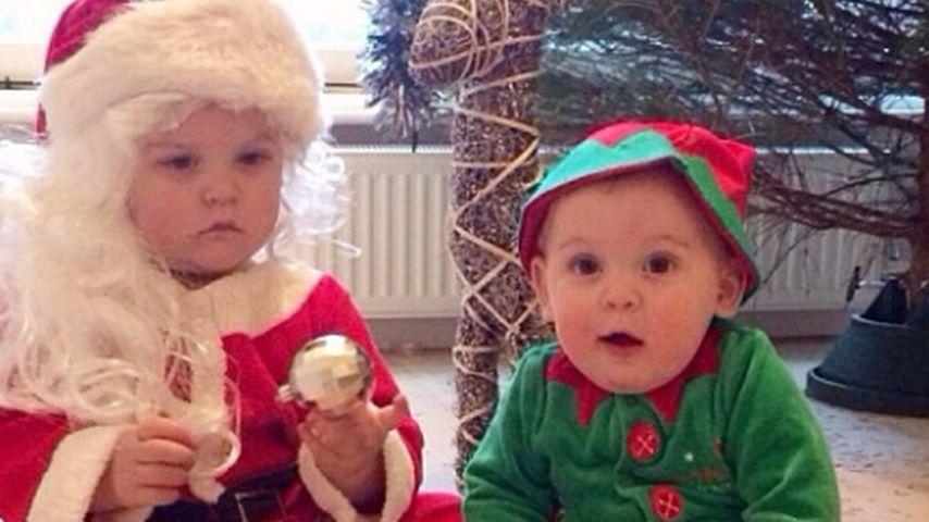 Wem gehören denn diese süßen Weihnachtsboten?