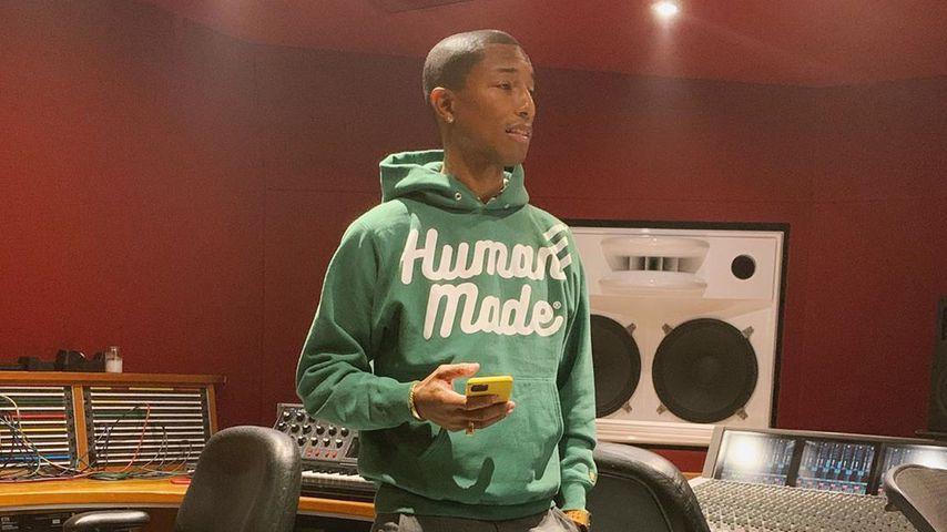 Musiker Pharrell Williams im Februar 2020