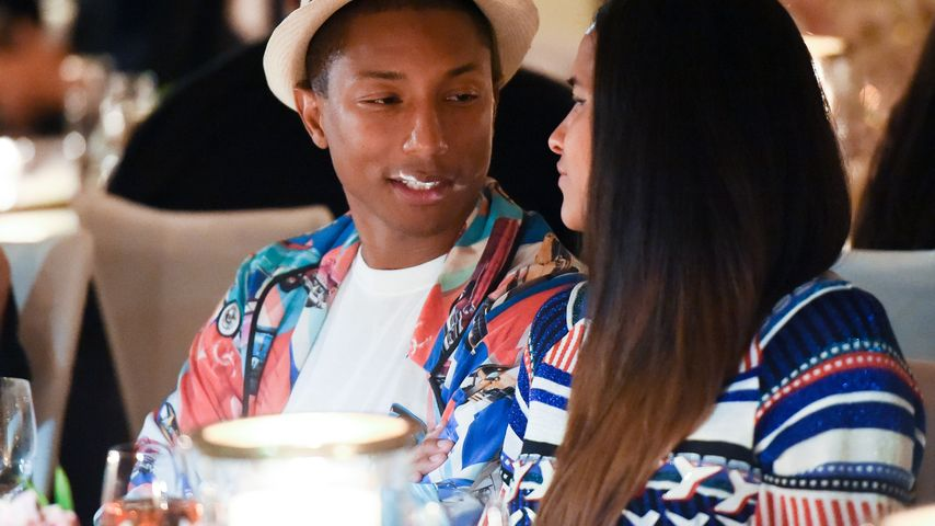 Pharrell Williams und Helen Lasichanh beim Chanel No.5 L'eau Launch in West Hollywood