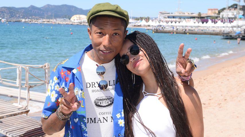 Zoe Kravitz und Pharrell Williams