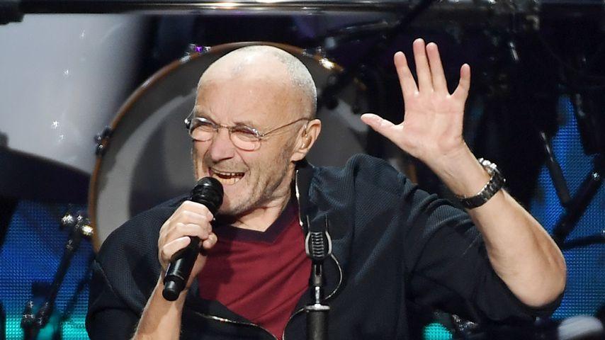 Phil Collins bei einem Auftritt in Las Vegas im Oktober 2018