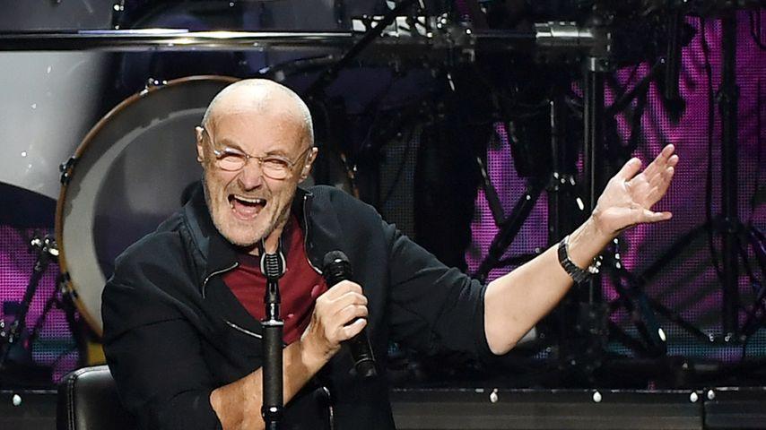 Phil Collins bei einem Auftritt in Las Vegas