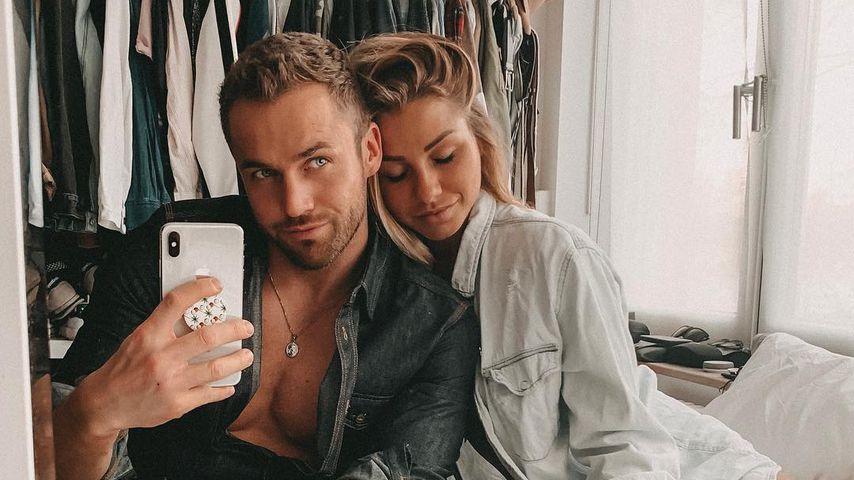 Philipp Stehler und Antonia Elena im April 2019