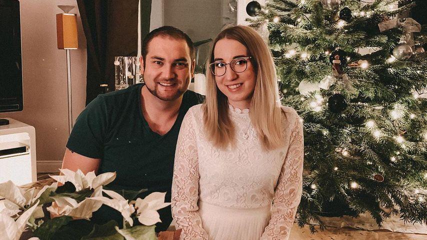 """Philipp und Melissa von """"Hochzeit auf den ersten Blick"""" im Dezember 2019"""
