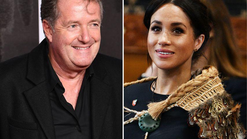 Mama-Prognose: Piers Morgan teilt weiter gegen Meghan aus!