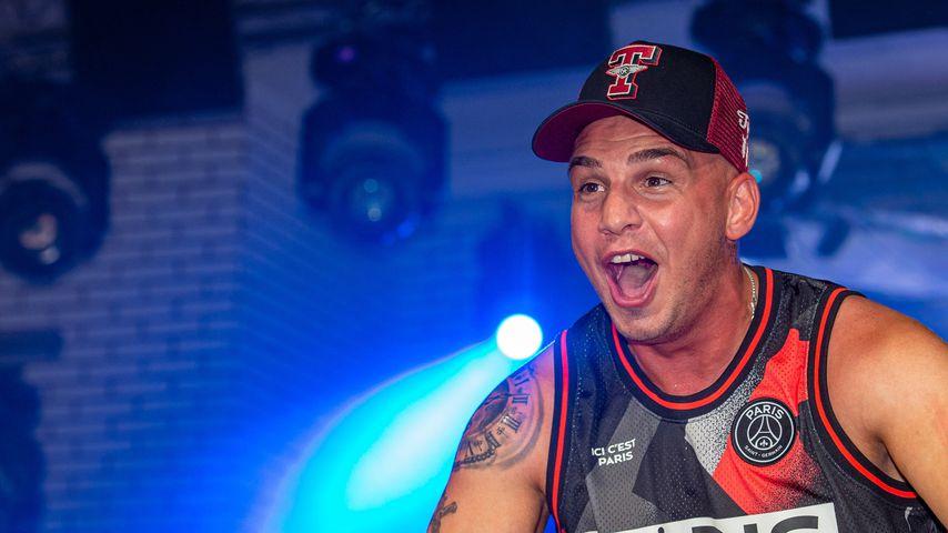 Pietro Lombardi bei einem Auftritt im Mega Park 2019