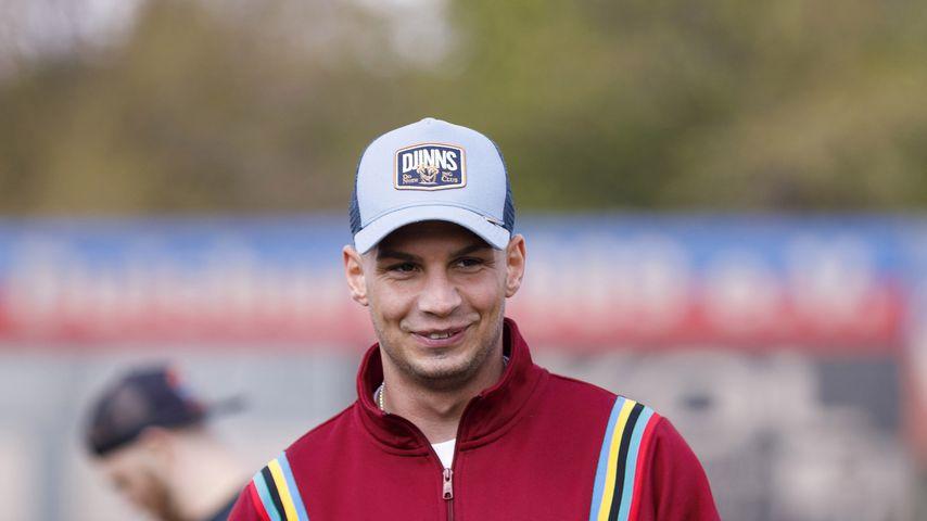 Pietro Lombardi bei einem Charity-Fußballspiel