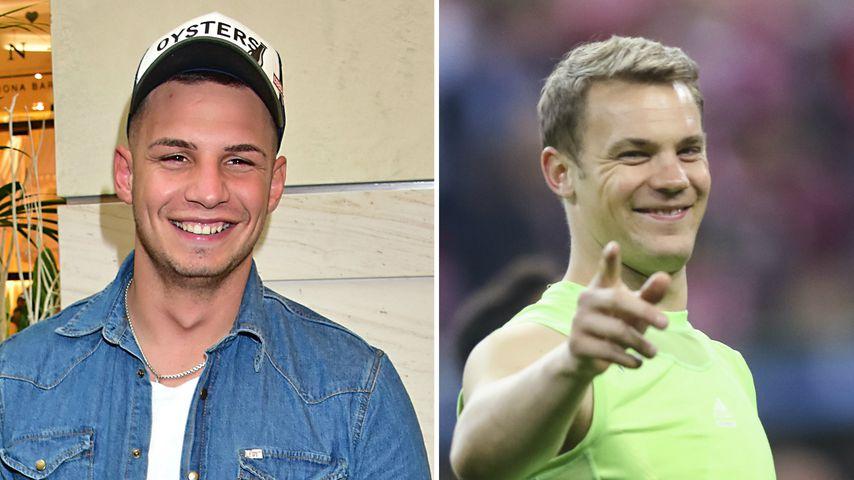 Wilde Gerüchte-Küche: Ist Pietro eigentlich Manuel Neuer?