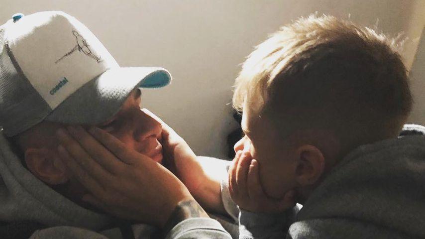 B-Day ohne seinen Sohn? Alessio gratuliert Pietro aus Auto