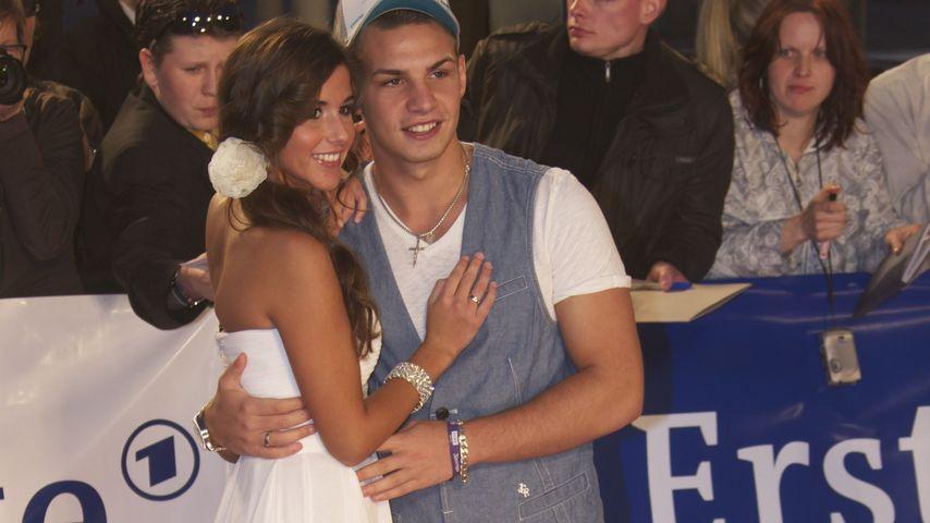 Pietro und Sarah Lombardi auf der Echo-Verleihung 2012