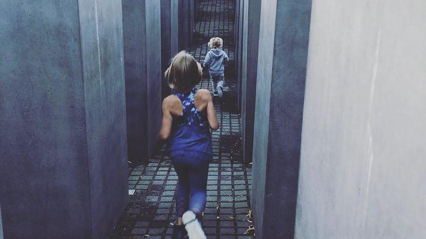 Pinks Kinder Willow und Jameson Moon Hart in Berlin