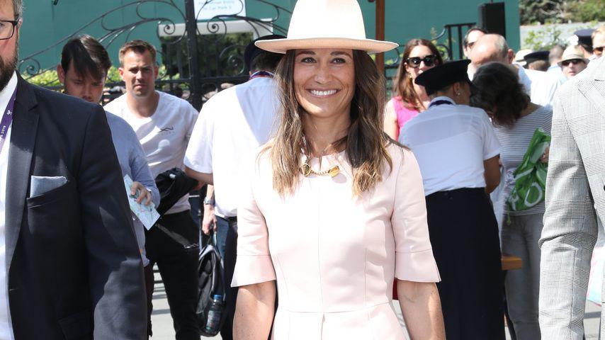 Wie Schwester Kate: Pippa Middleton elegant in Wimbledon