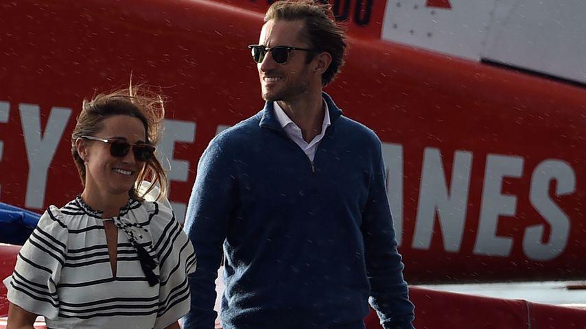 Pippa Middleton und James Matthews während ihrer Flitterwochen in Australien