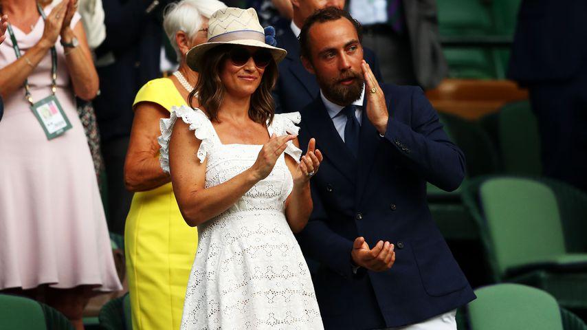 Pippa und James Middleton beim Wimbledon-Turnier 2018