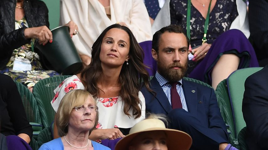 Pippa und James Middleton beim Wimbledon-Turnier 2016